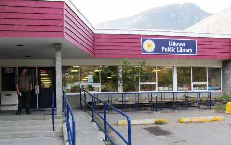 Lillooet Public Library entrance