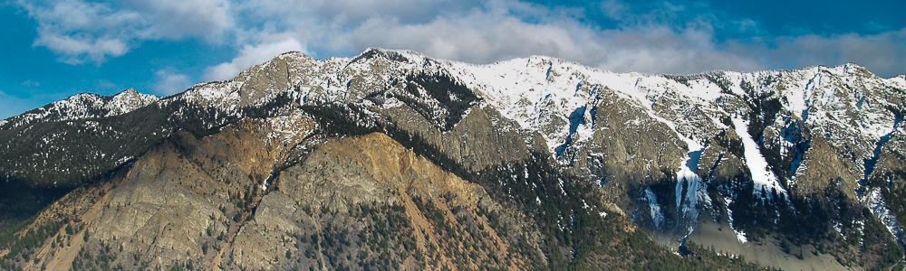 BW Fountain ridge